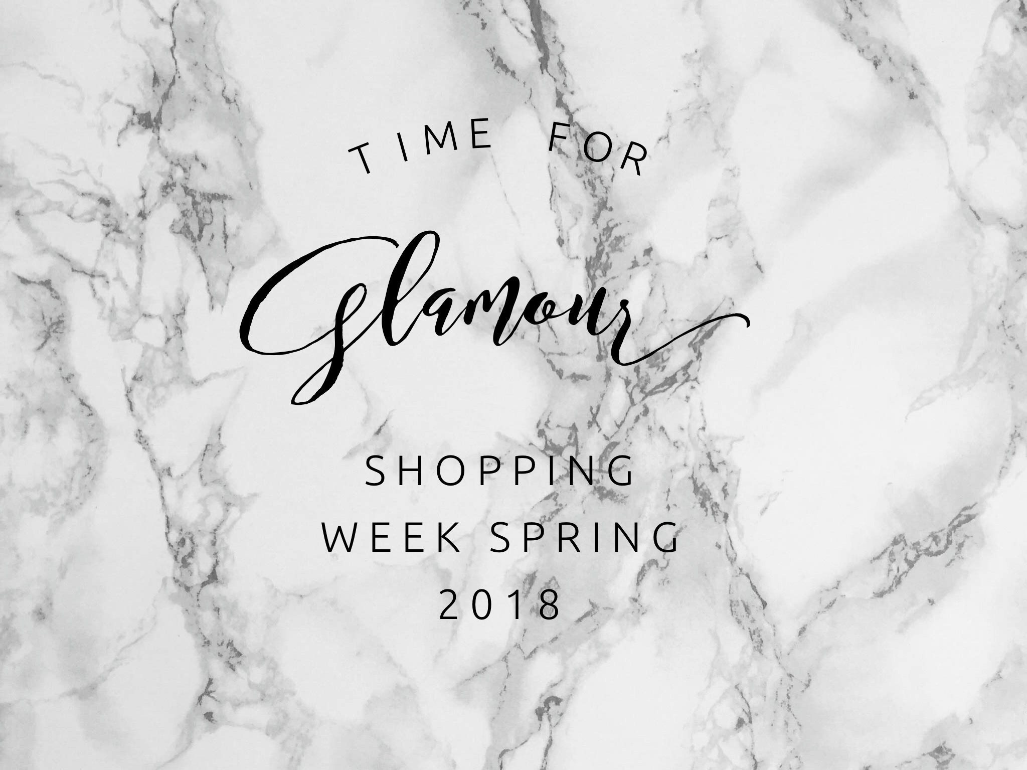 BEST OF GLAMOUR Shopping Week Ostern 2018