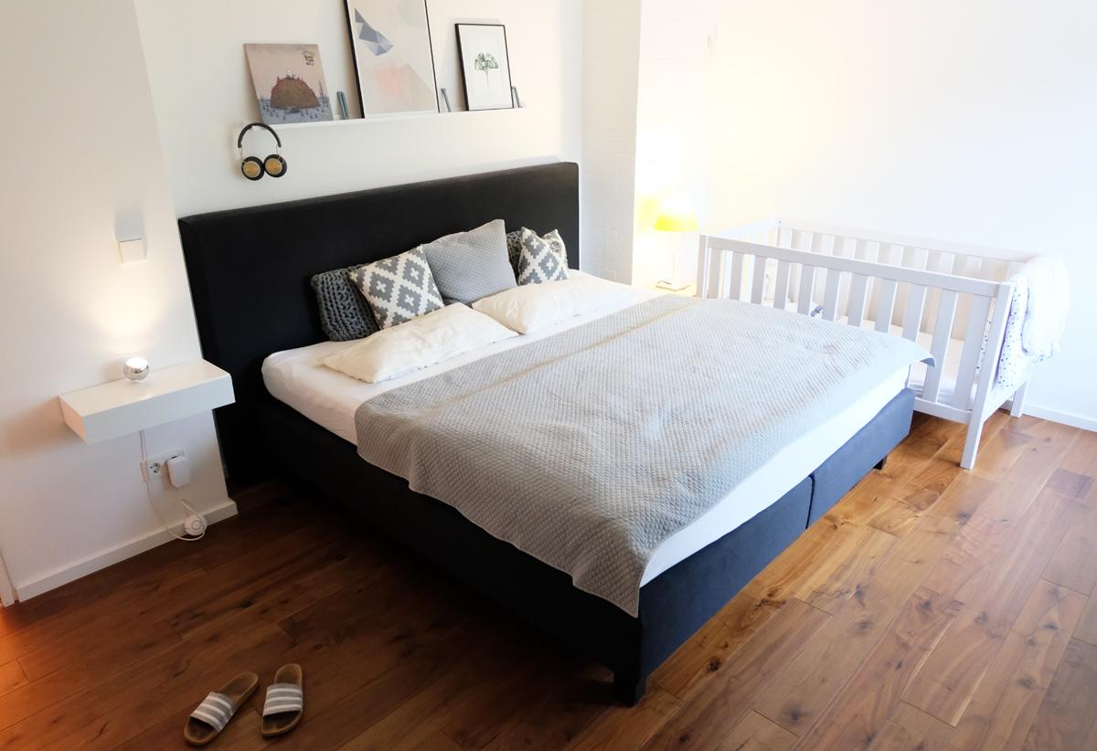 Schlafzimmer makeover: VORHER #ANZEIGE
