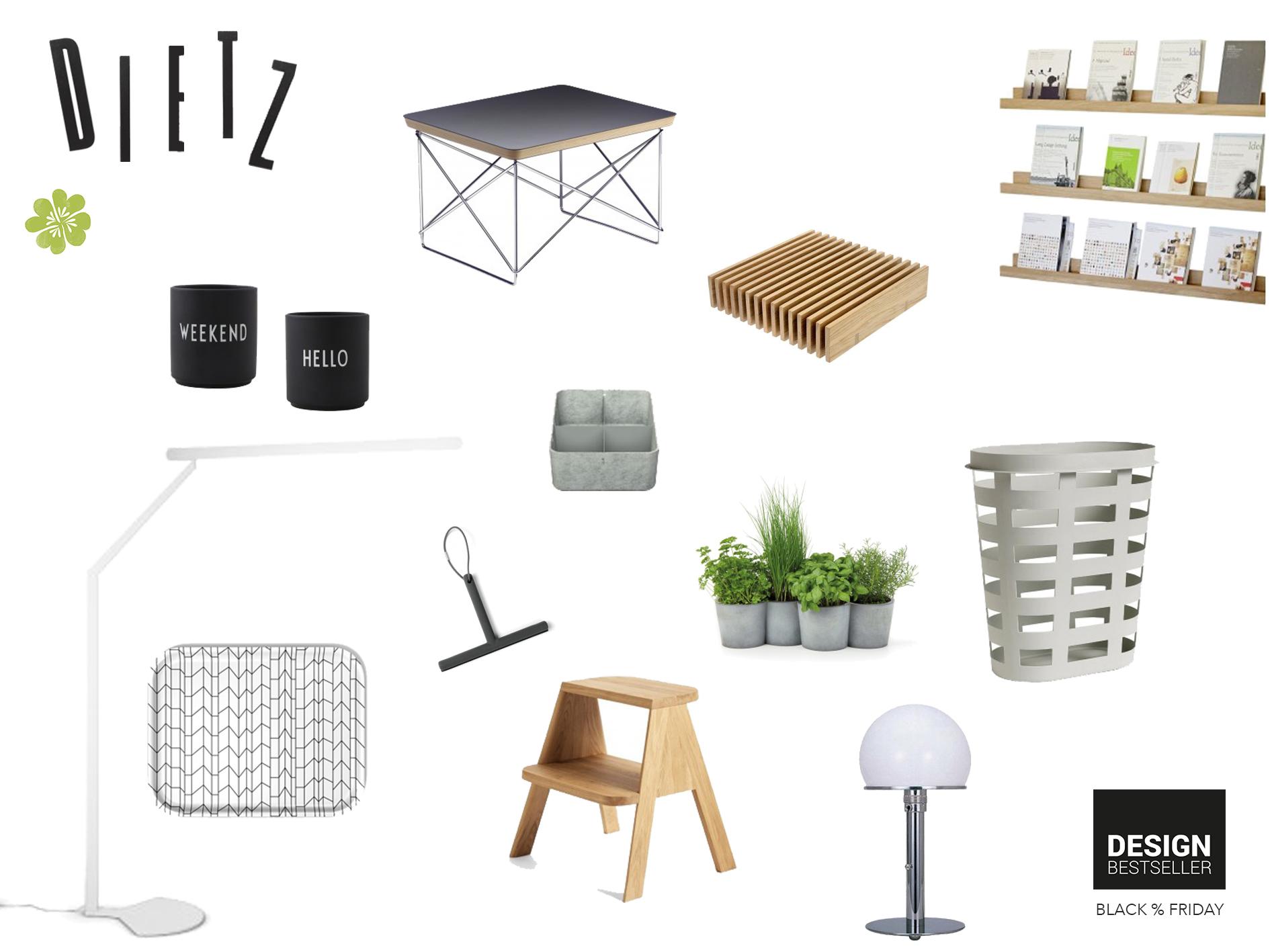 Design Bestseller Black Friday Highlights von Shari Dietz