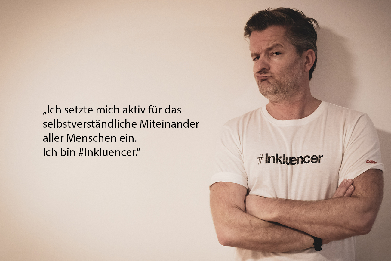 Inkluencer der Aktion Mensch #Anzeige